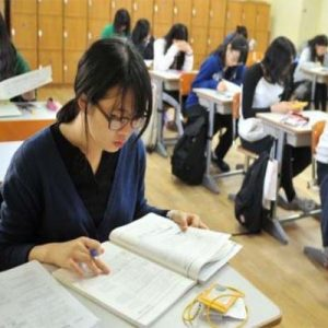 Feature brain to physical, this makes school in South Korea very difficult