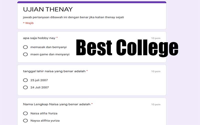 Ujian Thenay